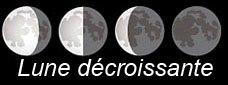 Lune decroissante