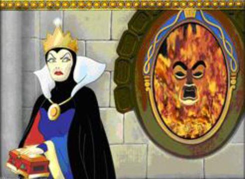 Les miroirs magiques origine et explications du for Miroir magique blanche neige