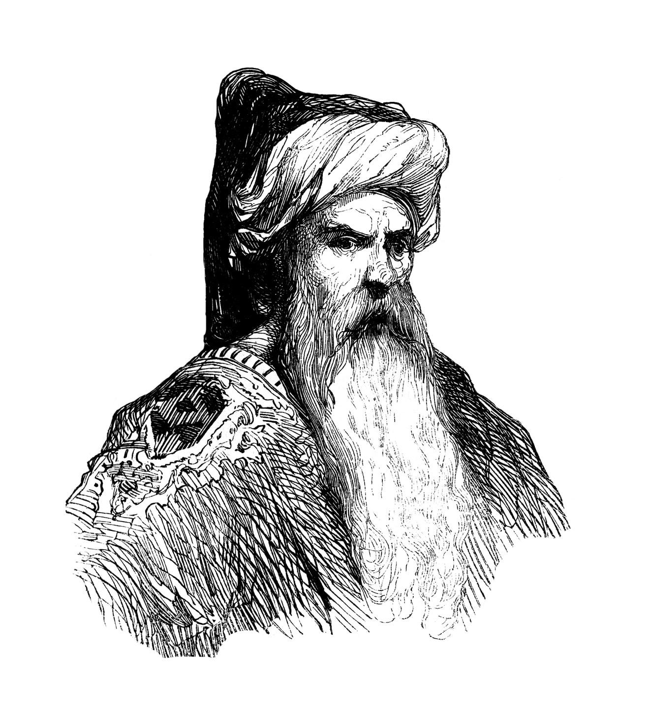 maitre sorcier arabe