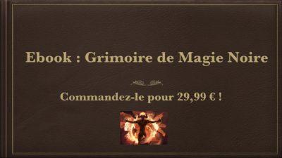 Grimoire de magie noire